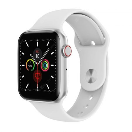 Smart hodinky W34  - biele