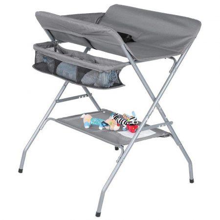 Skládací přebalovací stůl - ŠEDÁ