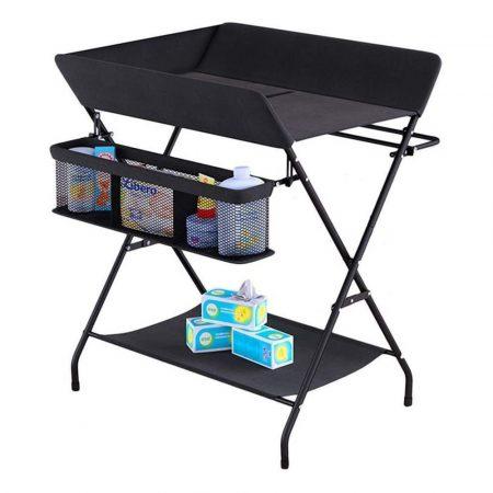 Skládací přebalovací stůl-  černá
