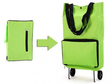 Skládací nákupní taška na kolečkách nejen pro seniory