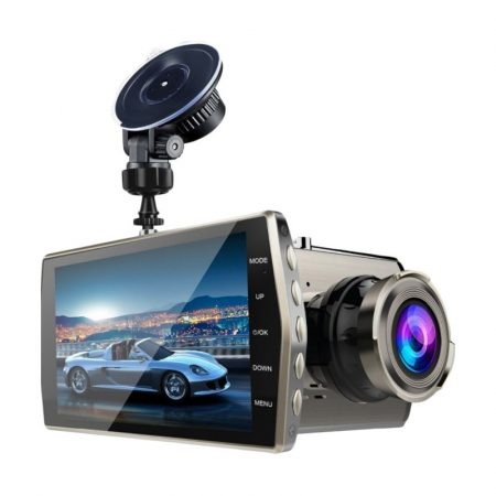 Kamera do auta V5 s duálním objektivem a HD displejem