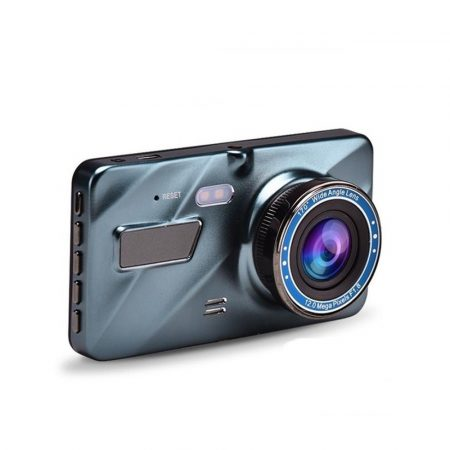 V3 autóskamera kettős objektívvel és HD kijelzővel