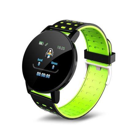 ID119 Plus  inteligentný náramok v zelenej farbe - šikovný pomocník v každodennom živote