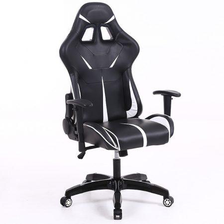 Herní židle Sintact  bílo černé