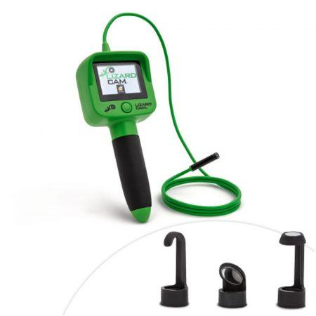 LIZARD CAM - Endoskop+ displej + kamera s LED světly