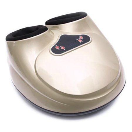 Relaxační masážní přístroj na nohy pro zlepšení prokrvení gold