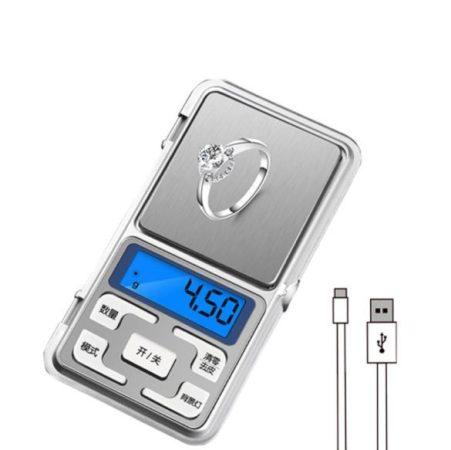 Presná vrecková váha na šperky  V2 100g/0,01g