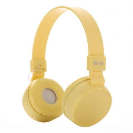 Liro bk05 headset žltá