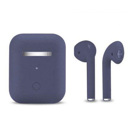 Slúchadlá Inpods 12 Macaron fialové - soft touch ovládanie a matný povrch