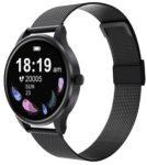 G3 Dámske inteligentné hodinky-čierné