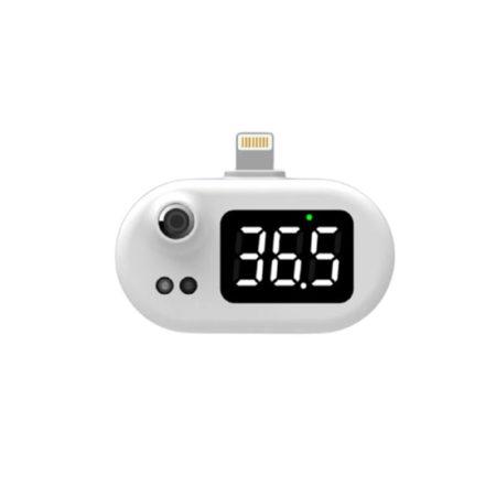 Bezkontaktný infračervený teplomer do mobilu –iPhone pripojenie