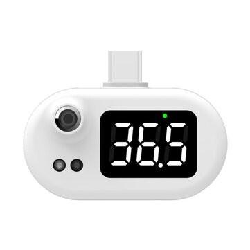 Bezkontaktný infračervený teplomer do mobilu – Type-C pripojenie