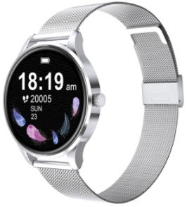 G3  Dámske inteligentné hodinky -strieborné