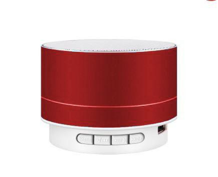 Reproduktor kokový  A10 Bluetooth - červený