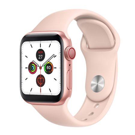 Oprit x7  pink-rose gold Inteligentné hodinky