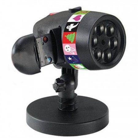 Laser shower slide projector vánoční světla, 12  různé motivy